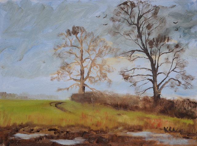 Two Trees oil