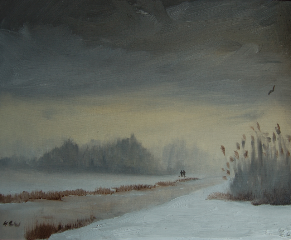 Кирон Уильямсон Winter-Lakeside-I-enjoy-being-able-to-put-a-variety-of-colours-in-a-sky-KRW