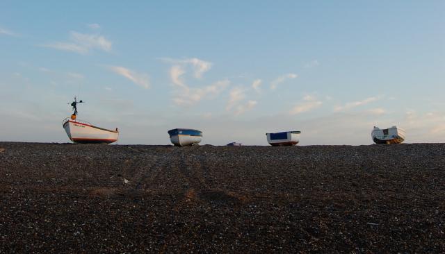 Boats at Cley